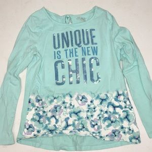 Sequence kids top